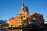 Maryland, Baltimore, Inner Harbor, old power plant building