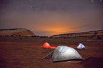 Arizona, Vermilion Cliffs National Monument, White Pocket, camping at night