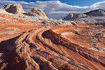 Arizona, Vermilion Cliffs National Monument, White Pocket, sandstone formations