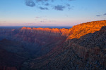 Arizona, Grand Canyon National Park, South Rim, Lipan Point, view of canyon and Desert View