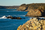 Maine, Boot Head Preserve, Washington County, rugged shoreline