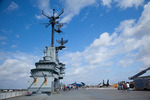 Texas, Corpus Christi, USS Lexington Museum on the Bay, aircraft carrier, flight deck and bridge