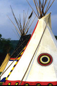 Teepee Painted in High Plains Fashion