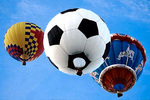 Soccer Ball Hot Air Balloon