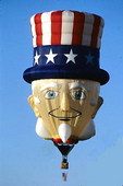 Uncle Sam Hot Air Balloon