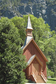 Yosemite Chapel, Yosemite National Park, CA