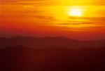 Sunset from Clingman's Dome.