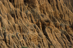 Erosion spires along Pacific Coast Highway, Big Sur, California