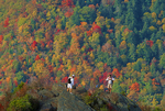 Hikers, Chimney Tops, Great Smoky Mountains National Park