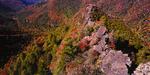 Chimney Tops Peak and Newfound Gap
