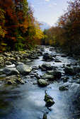 Little Pigeon River in Autumn
