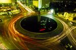 Nightscape Downtown Jakarta