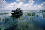 Airboat on Lake Kissimmee