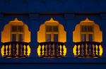 Balcony at Casa Monica Hotel