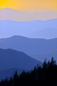 Sunset view from Clingmans Dome