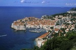 Croatia coast resort old city of Dubrovnik Croatia
