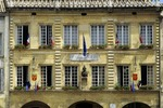 France. Mairie/Hotel de Ville. Pont St. Esprit. Gard.  Also the Museum Paul-Raymond.   