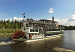 Riverboat Discovery on a tour of the Chena River, Fairbanks, Alaska