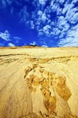 Huge sand dune cliffs at Long Nook Beach, Cape Cod National Seashore, Truro, Cape Cod, MA, USA