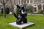 Sculpture, Joan Miro, Reina Sofia Museum, Madrid, Spain