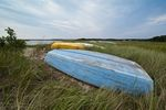 Dhingy, Boat Meadow Creek, Orleans, Cape Cod, MA, Massachusetts, USA