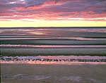 Sandbars at Sunset, Thumpertown Landing, Cape Cod