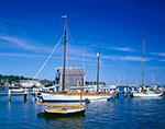 Sailboats in Vineyard Haven Harbor, Martha's Vineyard