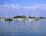 Sailboats and Reflections, Pine Island Bay, Avery Point