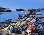 Lobster Lines, Buoys, Traps and Boats