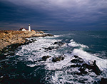 Storm at Portland Light
