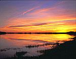 Sunset on Herring River, Cape Cod National Seashore