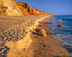 Moshup Beach and Gay Head Cliffs, Martha's Vineyard,  Aquinnah, MA