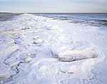 Beach after Sub-Zero Temperatures, Robert Moses State Park