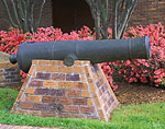 Cannon and Azaleas, Downtown Historic District