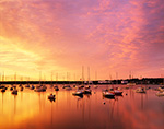 Vineyard Haven Harbor in Early Morning