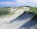 Dunes and Monomoy Point Lighthouse, South Monomoy Island, Monomoy National Wildlife Refuge