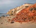 Colorful Gay Head Cliffs, Martha's Vineyard, Aquinnah, MA