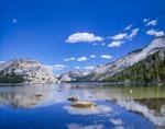Tenaya Lake with Surrounding Mountain Domes, Yosemite National Park, CA