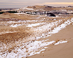 Dunes in Winter, Cape Cod National Seashore