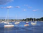 Sailboats on Barrington River