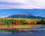 Mt. Katahdin and Abol Stream in Fall