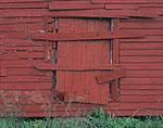 Old Red Barn Door