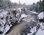 Ripogenus Gorge Just After Snowfall