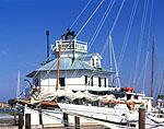 Hooper Strait Lighthouse & Skipjack Bow