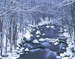 Tully River During Snowstorm