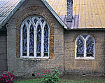 Section of 1876 Tabby Church, St. Cyprian's Episcopal Church