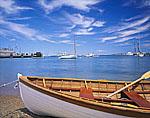 Small Skiff at Vineyard Haven Harbor