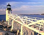 Sunrise at Marshall Point Light