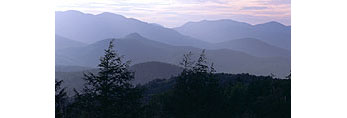 Mountain Layers, Pitchoff Mountain and Sentinal Range Wilderness