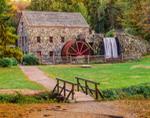 Grist Mill at Historic Longfellow's Wayside Inn, Sudbury, MA